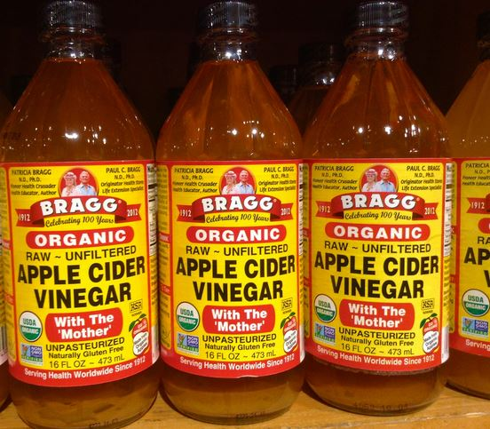 how to take apple cider vinegar for gout