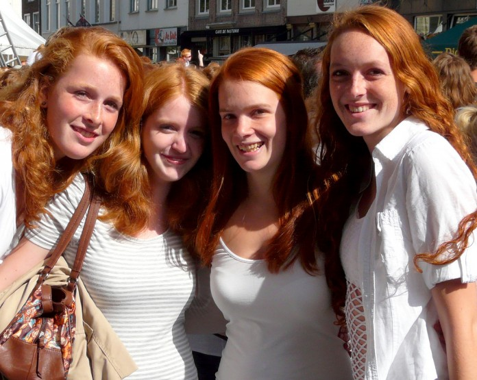 interesting facts about redheads