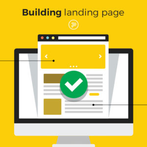 create an efficient landing page